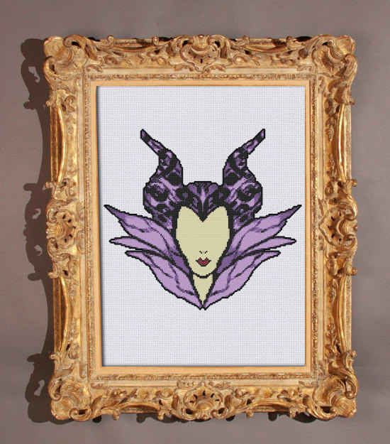 This striking Maleficent.