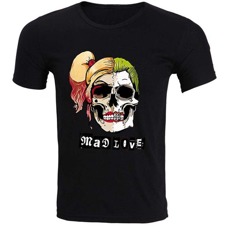 The Joker Mad Love T Shirt- Mens Fasion //Price: $29.23 & FREE Shipping //     #jaredletojoker #jarley #jokerandharley #dccomics #madlove #thecrazyones #suicidesquad2016