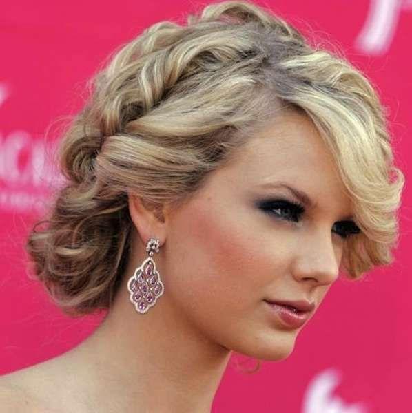 Acconciature eleganti capelli corti - Capelli corti a caschetto con boccoli