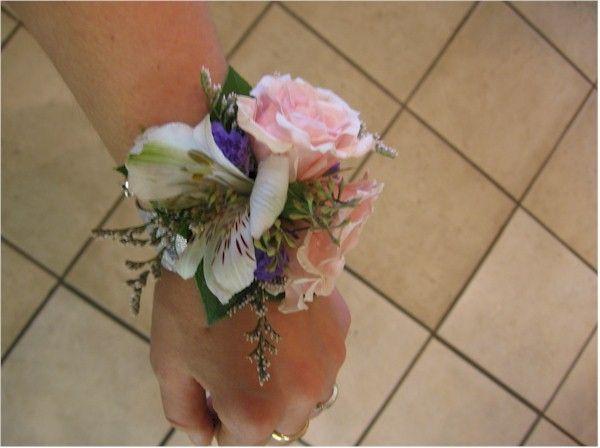 Bracelet de mariage, rose, mariage, fleurs naturelles, bracelet romantique,  Le jardin d'Andrée-Anne, www.lejardin.ca