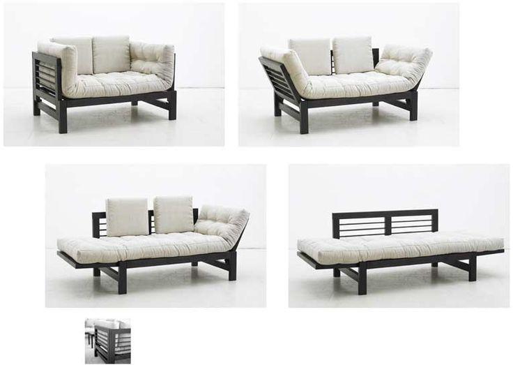 17 migliori idee su letto futon su pinterest camera da for Futon giapponese ikea