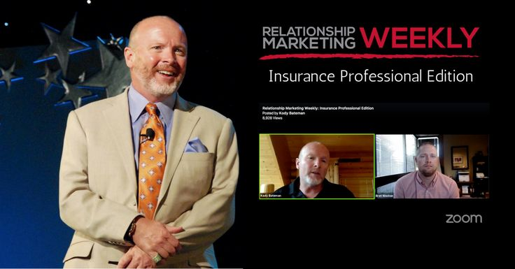 On this week's Relationship Marketing Weekly, Relationship Marketing Expert Kody Bateman interviews Insurance professional Bret Weston!  Bret explains how he created a 90% referral based business and maintain a 95% retention over the past five years. It's an amazing story that I know you'll enjoy! Kody Bateman: Welcome to our Weekly Relationship Marketing Show. We're really …