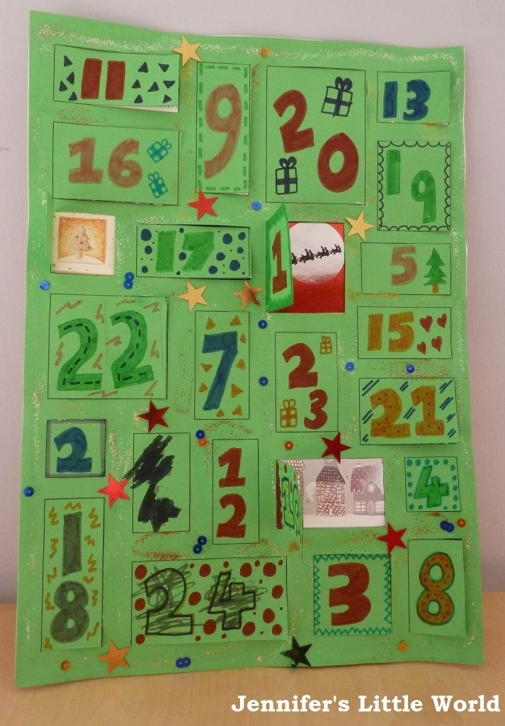 Calendar Ideas For Children To Make : Best homemade advent calendars ideas on pinterest