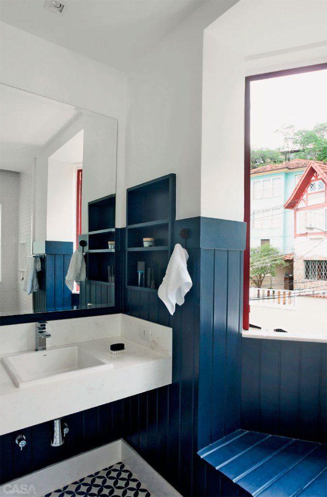 Badezimmer Fliesen Blau. Verschnern Style Your Castle. Bad Blau ...