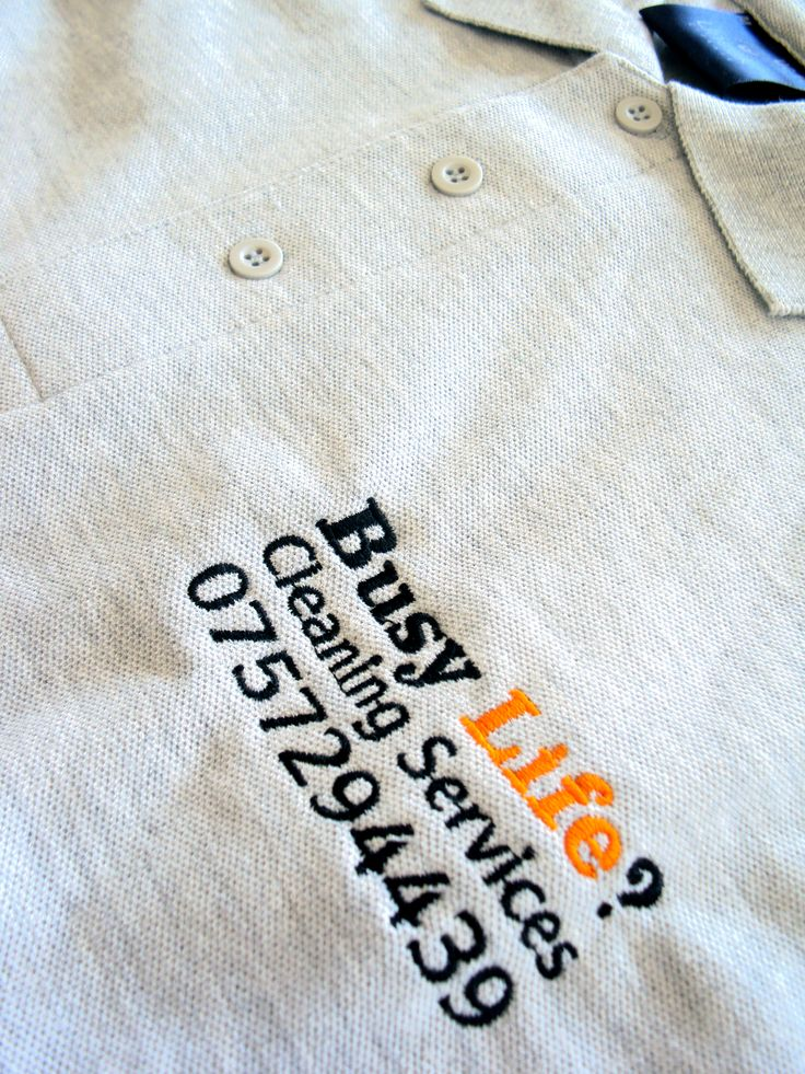 "Embroidered Polo Shirts for ""Busy Life?"" by Minuteman Press Nottingham"