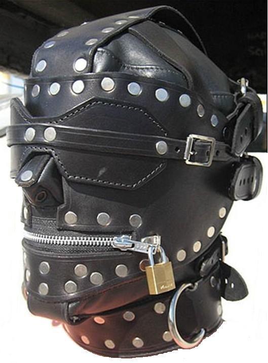 leather smell fetish masks