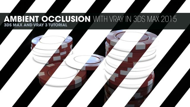 In this short little video we create ambient occlusion in Vray. We do a regular AO pass to be used in post and also a render to texture.  Hdri images can be found here: http://www.hdrlabs.com/sibl/archive.html  See the full article and get the project files at http://tiner.co/tutorials/ambient-occlusion-with-vray-in-3ds-max-2015/