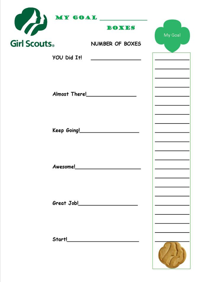 363 best girl scouts images on pinterest brownie girl for Girl scout order form template