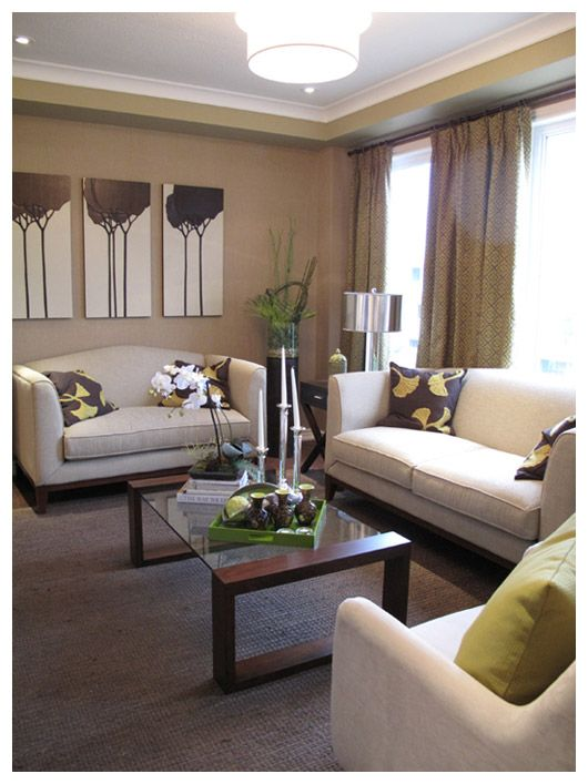 Decorated model home virtual tours