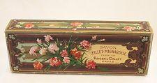 Boite ancienne cartonnée savon Roger & Gallet Paris french soap box