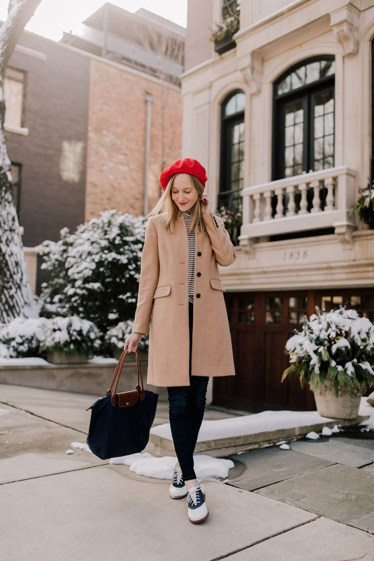 Saddle Shoes & a Red Beret - Kelly in the City