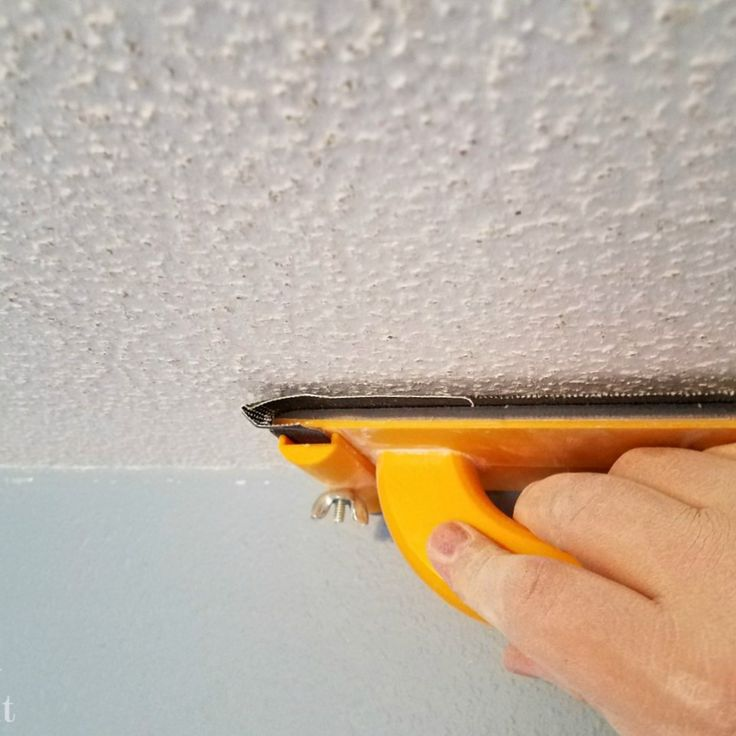 25 Best Ideas About Remove Popcorn Ceiling On Pinterest