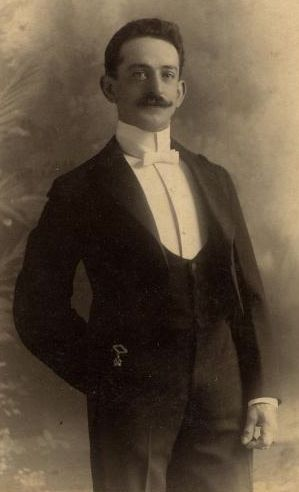 Unknown gentleman wearing a black waistcoat and black tailcoat. Photographed at Gray's studio in Boston, date unknown.