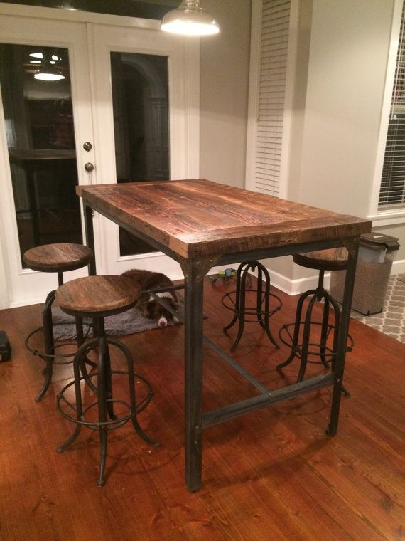 25 best ideas about Bar height dining table on Pinterest  : 3c2c272c042c1edb3200e5c0b1713291 from www.pinterest.com size 570 x 760 jpeg 65kB