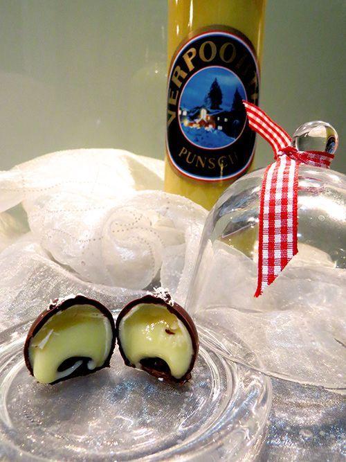 Eierlikör Rezept: Pralinen selber machen - Eierpunsch-Pralinen mit Verpoorten-Punsch - Dessertrezepte - VERPOORTEN