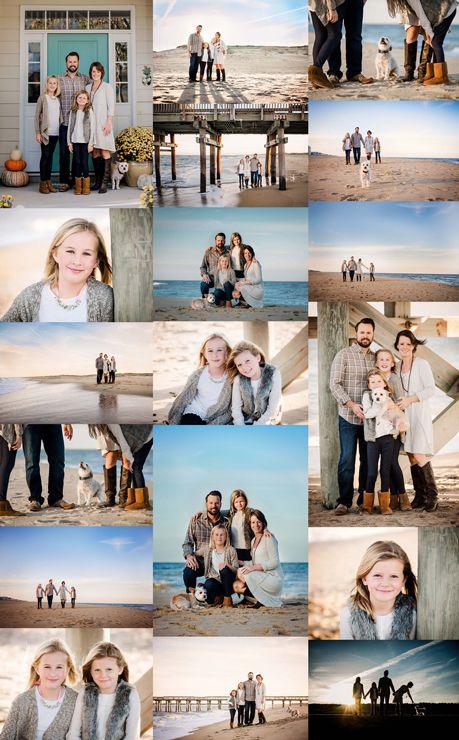Beach Family Photo Session – Sandbridge Photographer – Melissa Bliss Photography