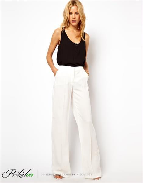 Белые брюки женские интернет магазин