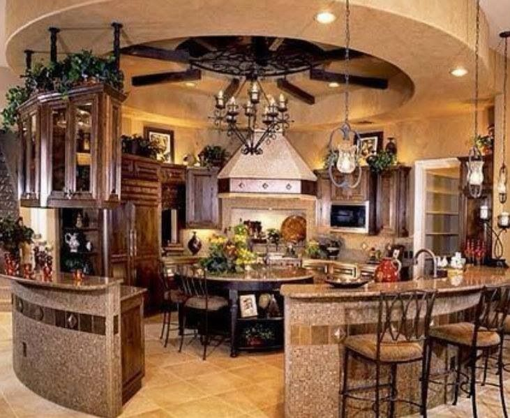 14 best crazy kitchens images on pinterest modern for Cool outdoor kitchen ideas