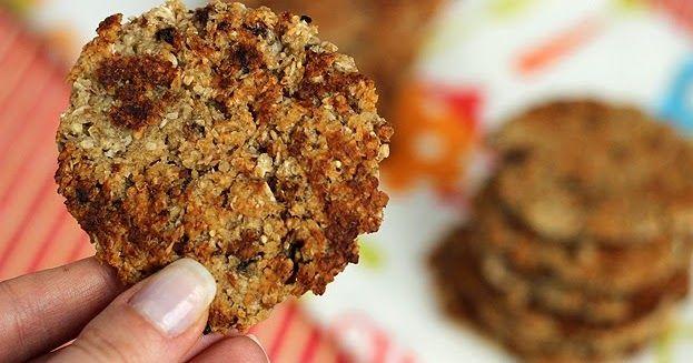 Ciasteczka bez cukru, masła i glutenu