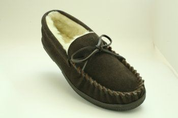Men's Elegant Leather Moccasins DEALICIOUS. $26.95. Half Sizes Order a Size Up. For example:  Size 10.5  Order Size 11. Eligible For Free Super Saving Shipping & Free Returns!. Non-Slip In And Outside Sole. Superb  Suede Leather With Thick Fleecy Acrylic Lining, Feel The Comfort As As You Put Them On. Suede leather. Available In Sizes 7-13     Medium Width