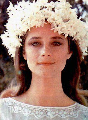 Flower Crown:: Charlotte Rampling  Pastel Dress