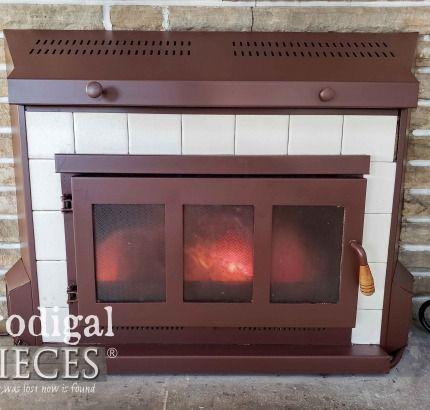 How To Clean And Paint Your Fireplace Insert Or Surround