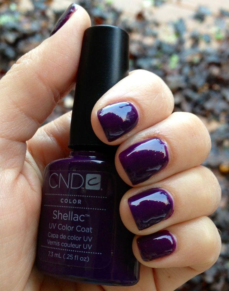 Cnd Creative Play Nail Lacquer Reviews In Nail Polish: Shellac UV Color Coat Rock Royalty