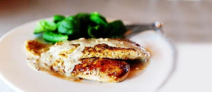 Pollo a la mostaza - Revista Cocina