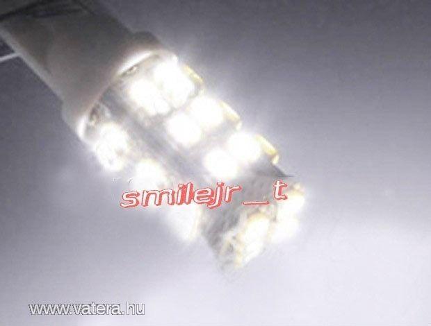 T10 LED autó izzó 28 ledes *AKCIÓ! - 280 Ft - Nézd meg Te is Vaterán - Fényszóró, búra, izzó - http://www.vatera.hu/item/view/?cod=1808548295