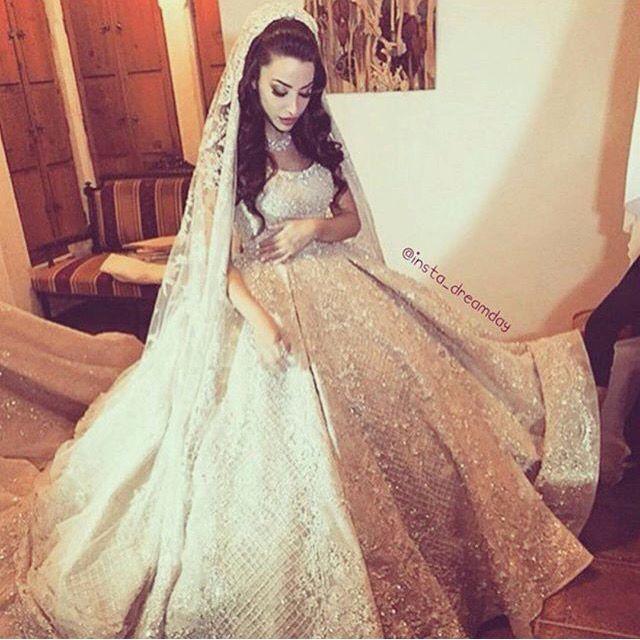 Kurdish style wedding dress