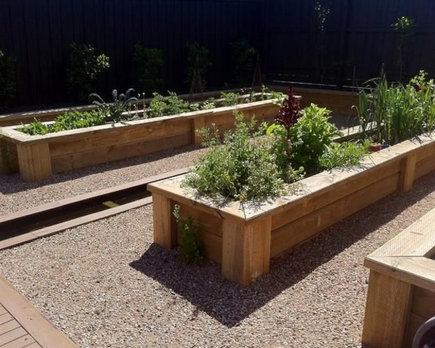 20 raised bed garden designs and beautiful backyard for Pretty raised beds