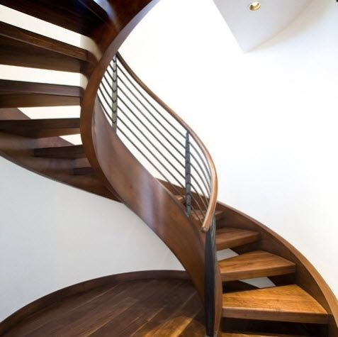 17 mejores ideas sobre escalera caracol en pinterest for Diseno de escaleras interiores