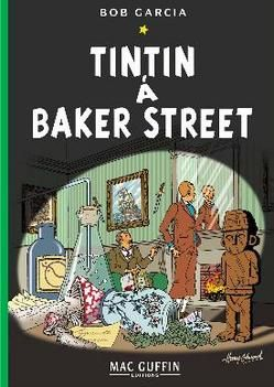 Tintin at Baker Street.
