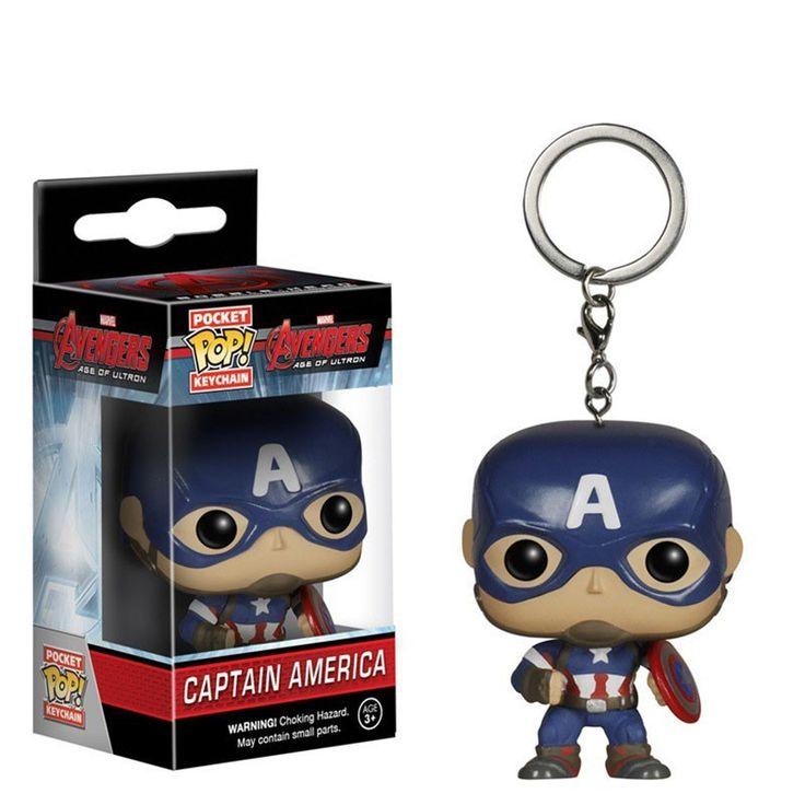 Pocket POP!  Avengers 2 - Captain America //Price: $10.00 & FREE Shipping //     #batman #deadpool #marvelc #dc