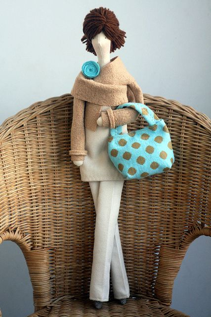 Doll by made by agah, via Flickr