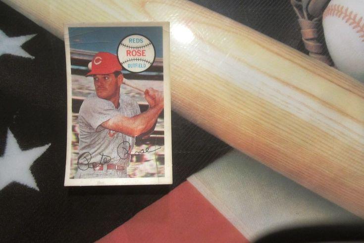 1970 pete rose kelloggs baseball card 2 cincinnati reds
