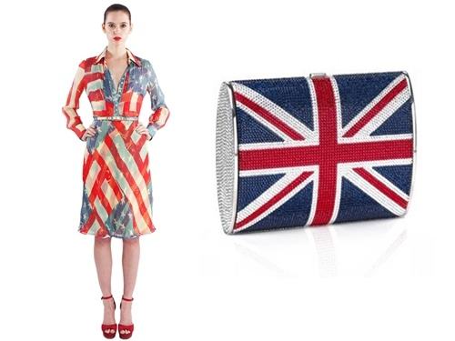 Bobbie's buzz: Olympics-inspired style - The Look (CatherineMalandrino.com, JudithLeiber.com): Flags Inspiration Fashion, Olympics Remix, Olympics Inspiration Food, Competition Rolls, Olympics Inspiration Style, Fashion Heat, Olympicsinspir Food, Olympics Competition, England Fashion
