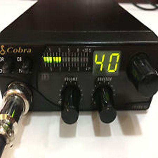 COBRA-Model19-DXIII CITIZENS BAND-2-WAY-MOBILE-RADIO #COBRA