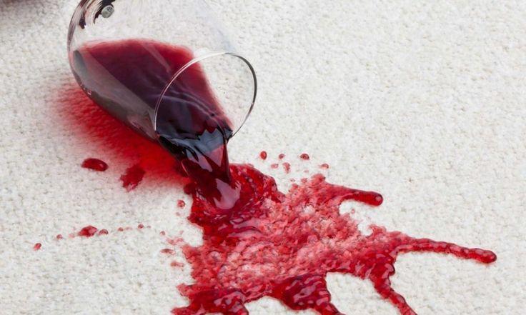 Αφαιρέστε το κόκκινο κρασί από το χαλί σας!