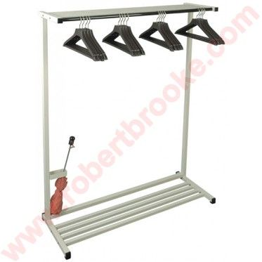 Emco 20 4 Portable Coat Rack System This 48 Floor Includes 16 Open