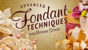Learn how versatile fondant can be in this video class! Make ribbons and flowers and add texture, sparkle and detail to your fondant and gum paste designs.  Learn more below http://shrsl.com/?~7hm9
