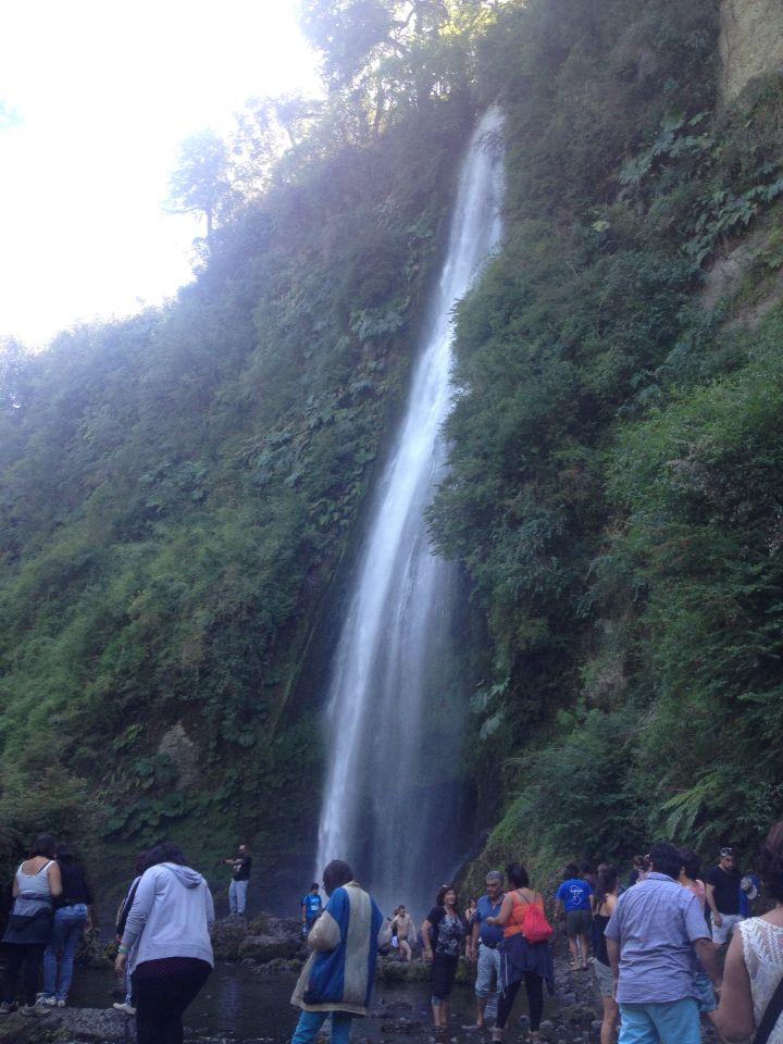 Cascada Tocoihue,Chiloe