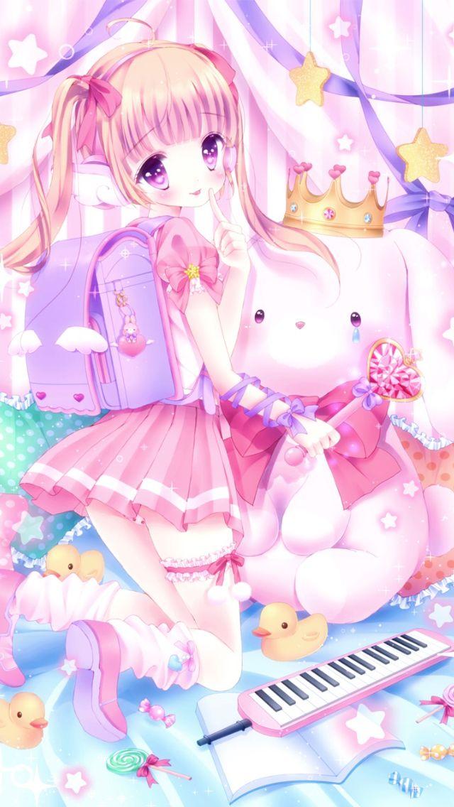 Wallpaper cute art lolita in 2019 lolis anime - Girly girl anime ...