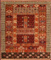 tappeto tradizionale turco in lana (fatto a mano: annodato a mano) 141.016.260.237 Bersanetti giovanni