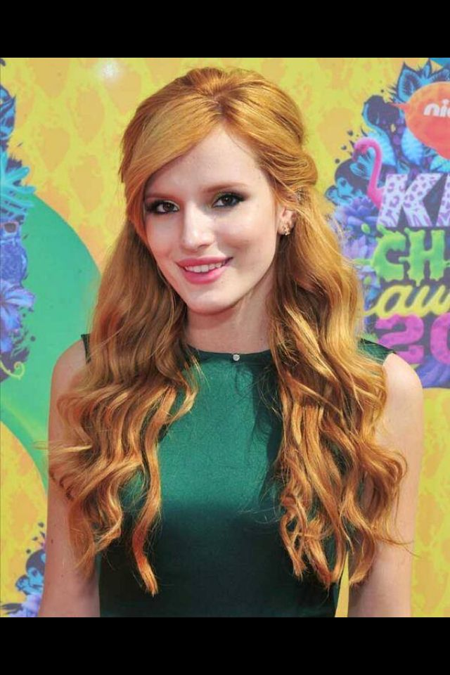 Bella thorne kids choice awards 2014 emerald green goddess bella