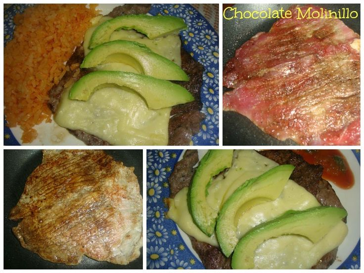 Chocolate Molinillo: Bistec a la Plancha Gratinado