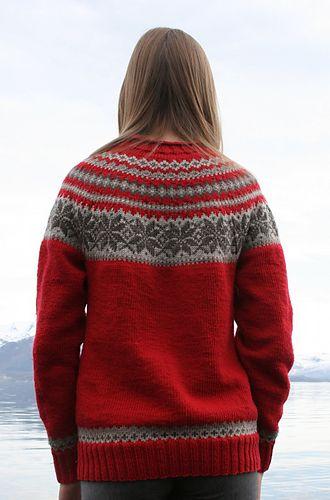 Free pattern in norwegian only. | Crochet baby sweater ...