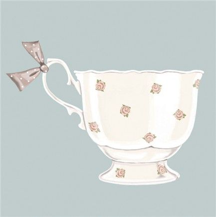 Tea Cup Notelets