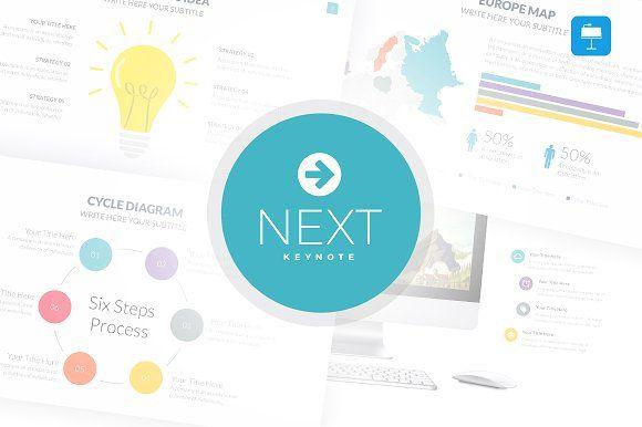 Next - Keynote Template by SlidePro on @creativemarket