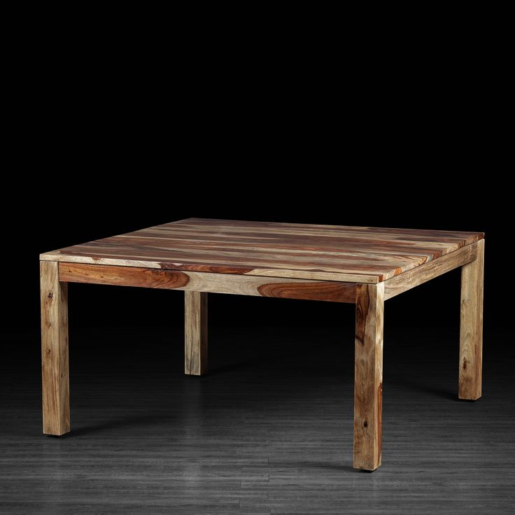 Romy Square Table Made of Rosewood